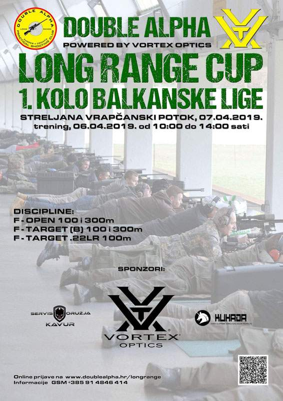 Double Alpha Long Range Cup